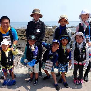 親子で海遊び「磯遊び教室2019」開校です!