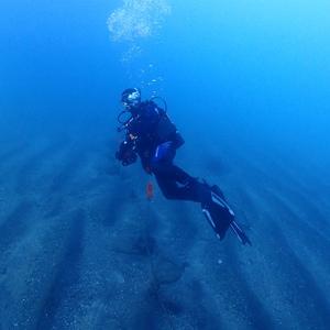 人生初,先頭を泳ぐダイビングを経験する,ダイブガイドコース