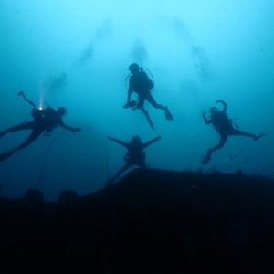 伊豆でのダイビング再開は熱海から,沈船ダイブ
