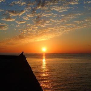 雲見で3本ダイビング,夕陽もキレイ