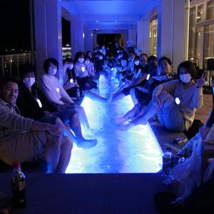 オープン前のミナカ小田原でダイバーズ夜会を開催