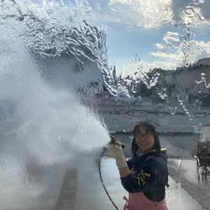 クリスマスに純水器&高圧洗浄機で楽々大掃除