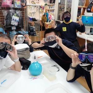 年末はダイビング器材も大掃除,自分でマスクを分解清掃しよう