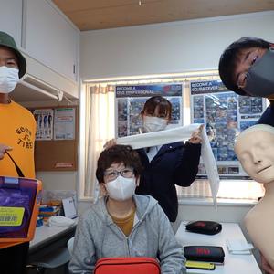 山崎イントラ1人立ちの救急法更新講習