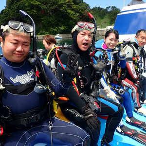 青く暖かで綺麗な西伊豆堂ヶ島でダイビング