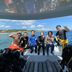 バリ島ツアーダイビング報告
